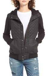 Rvca Women's Unlabel Quilted Hoodie