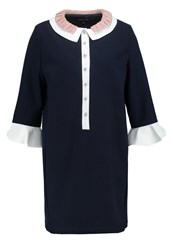 Sister Jane Summer Dress Navy Blue Dark Blue