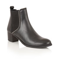 Ravel Henderson Ankle Boots Black Leather