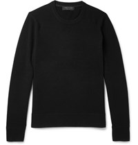 Rag And Bone Nathan Slim Fit Wool Cashmere Blend Sweater Black