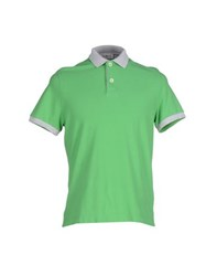 Della Ciana Topwear Polo Shirts Men Green