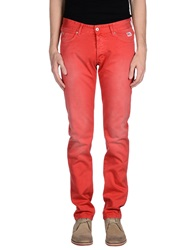 Roy Rogers Roy Roger's Casual Pants Red
