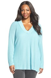 Plus Size Women's Sejour V Neck Sweater
