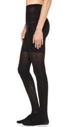 Spanx Ribbed Tight End Tights Black