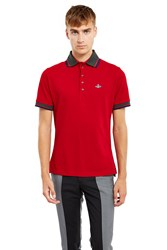 Vivienne Westwood Krall Polo Shirt Red