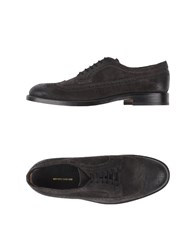 Mauro Grifoni Footwear Lace Up Shoes Men Steel Grey