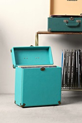 Crosley Lp Carrier Turquoise