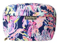 Lilly Pulitzer Travel Cosmetic Indigo Sunken Treasure Cosmetic Case Multi