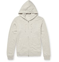 Club Monaco Loopback Cotton Jersey Hoodie Gray