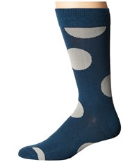 Richer Poorer Herald Teal Men's Crew Cut Socks Shoes Blue