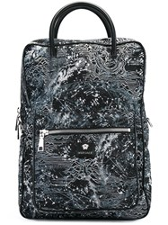 Versace 'Star Map' Backpack Black