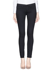 J Brand 'Super Skinny' Low Rise Denim Leggings Black