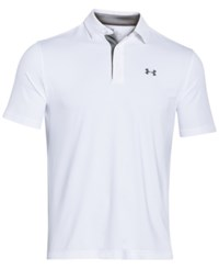 Under Armour Men's Playoff Performance Solid Golf Polo White
