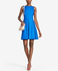 Polo Ralph Lauren Sleeveless Pleated Dress Mayan Blue