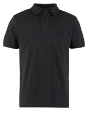 S.Oliver Regular Fit Polo Shirt Charcoal Anthracite