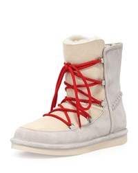 Lodge Fur Lined Lace Up Boot Moonrise Ugg Australia