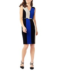 Phase Eight Iona Color Block Dress Multi
