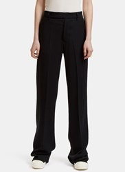 Rick Owens Dietrich Wide Leg Pants Black