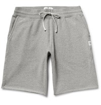 Reigning Champ Loopback Cotton Jersey Shorts Gray