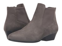 Eileen Fisher Knack Graphite Tumbled Nubuck Women's Boots Gray