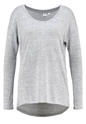 Gap Jumper Light Heather Grey Mottled Light Grey