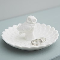 Rigby And Mac The Dulwich Trader Petal Owl Ring Dish