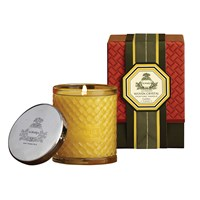 Agraria Woven Crystal Candle Golden Cassis