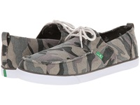 Sanuk Offshore Washed Camo Men's Slip On Shoes Gray