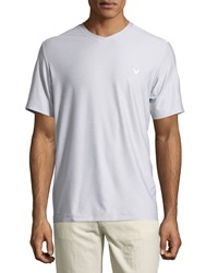 Callaway Short Sleeve V Neck Tee High Rise Heather