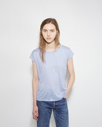 Acne Studios Narda Linen Tee Cloud Blue