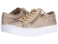 Guess Gemica Gold Women's Lace Up Casual Shoes