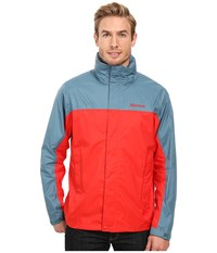 Marmot Precip Jacket Rocket Red Moon River Men's Jacket