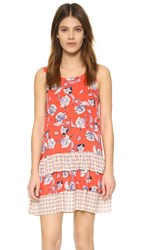 Minkpink Floating In The Tropics Dress Multi