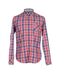 Timberland Shirts Shirts Men Red