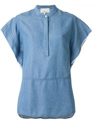 3.1 Phillip Lim Boxy Denim Tunic Blue