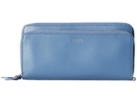 Ecco Deline Clutch Wallet Retro Blue Wallet Handbags Multi