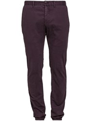 Marc O'polo Malmo Cotton Twill Chino Lilac