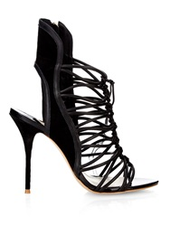 Sophia Webster Lacey Leather Sandals