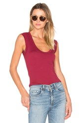 Velvet By Graham And Spencer Estina Tank Red