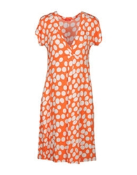 Altea Short Dresses Orange