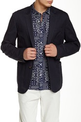 Bonobos Washed Slim Fit Chino Blazer Blue