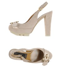 Cesare Paciotti 4Us Footwear Courts Women Beige
