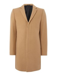 Selected Brook Wool Cashmere Overcoat Camel