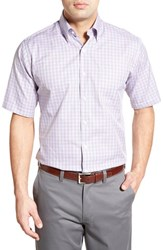 Men's Peter Millar 'Pinwheel Tattersall' Regular Fit Sport Shirt