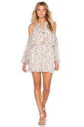 Zimmermann Eden Lace Playsuit Pink