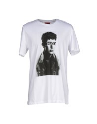 Hugo Topwear T Shirts Men White