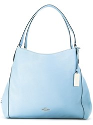 Coach 'Edie' Shoulder Bag Blue