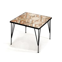 Amara Caldas Coffee Table Charm Stripes