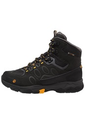 Jack Wolfskin Mtn Attack 5 Texapore Mid Walking Boots Burly Yellow Black