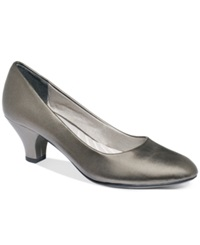 Easy Street Shoes Easy Street Fabulous Pumps Women's Shoes Pewter